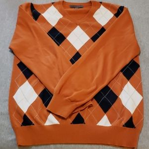 Mens Old Navy Argyle Sweater